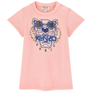 Kenzo Kids Tiger Print Sweatshirt Dress