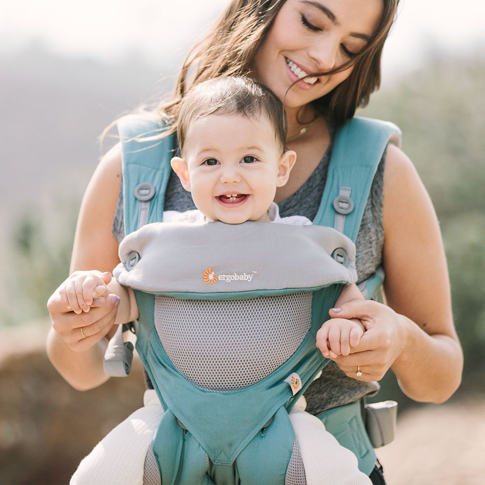 Ergobaby 360 Baby Carrier All Carry Positions: Cool Air Mesh
