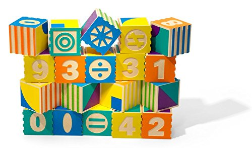 Uncle Goose Groovie Math and Patterning Blocks