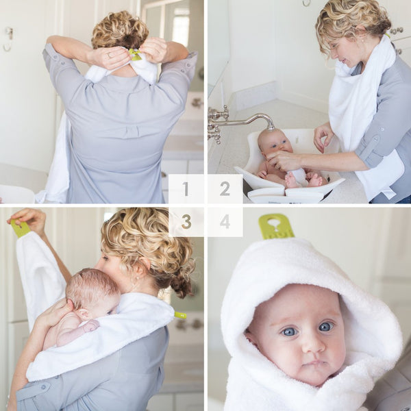 Hug - Baby Hooded Towel