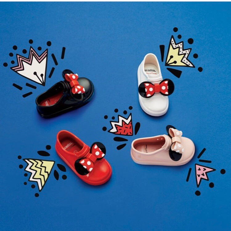 Mini Melissa Minni Mouse® Sneakers