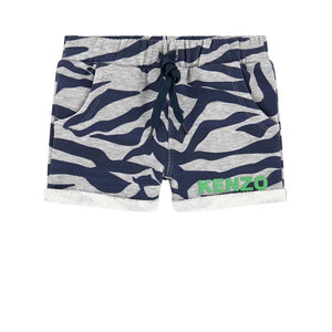 Kenzo Kids Graphic sportswear shorts - Tiger Stripes