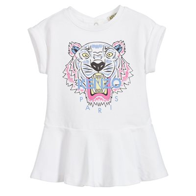 Kenzo Baby Girl Short Sleeve Dress