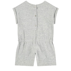 Kenzo Kid Tiger Playsuit Light Grey