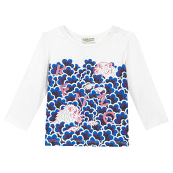 Kenzo Kids Print Long Sleeve T-shirt