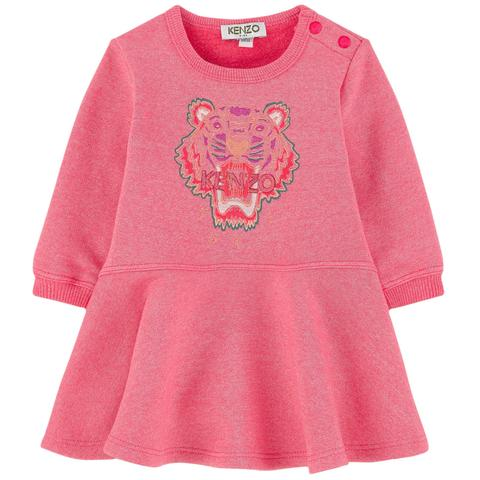 Kenzo Kids Tiger Sweatshirt Dress