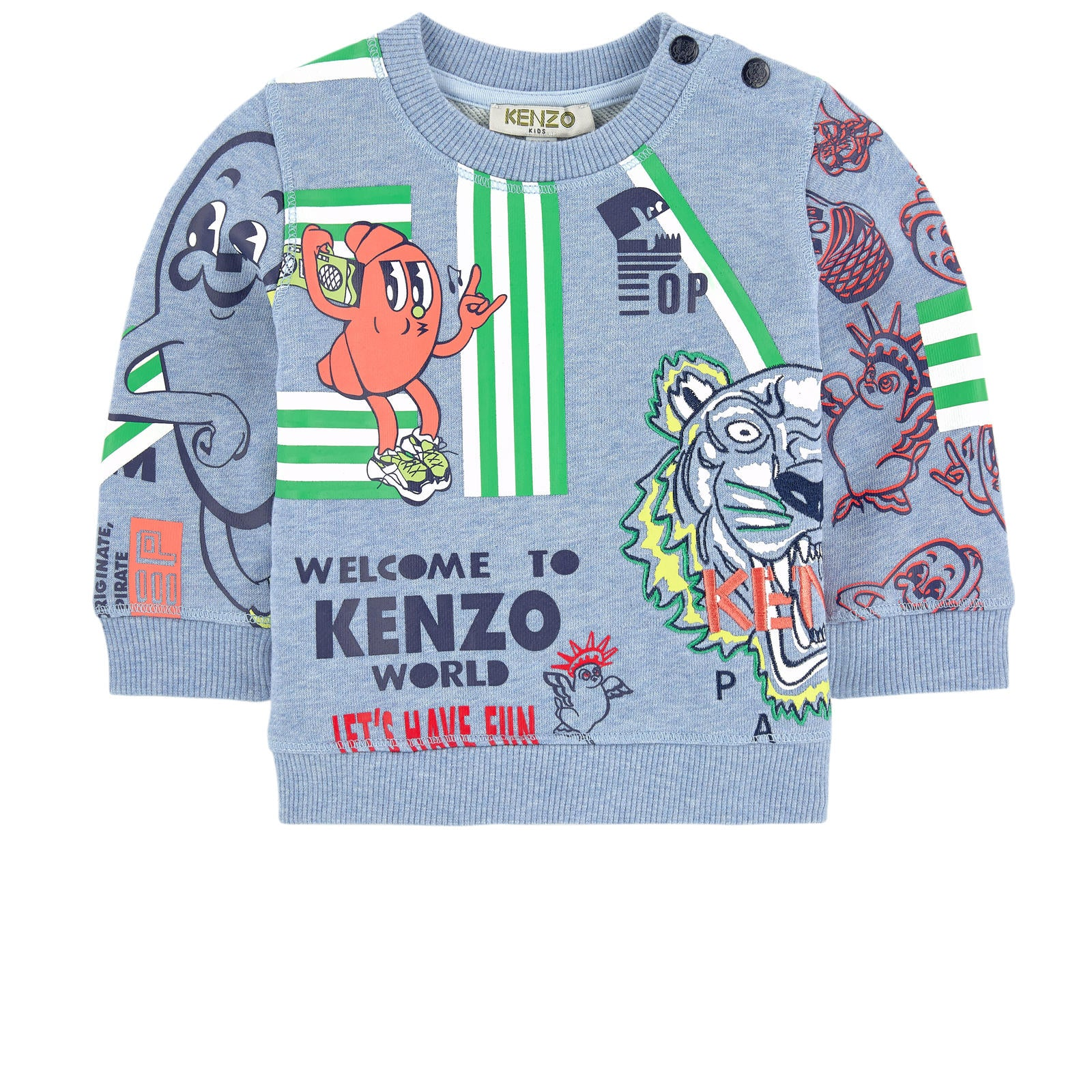 Kenzo Kids Graphic sweatshirt - Food Fiesta
