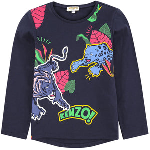 Kenzo Kids Graphic T-shirt - Friends & Pop