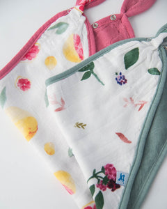 Little Unicorn Deluxe Muslin Bandana Drool Bib 2 Pack