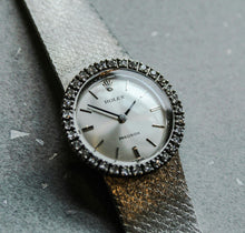Genuine 1974 vintage Rolex precision diamond bezel