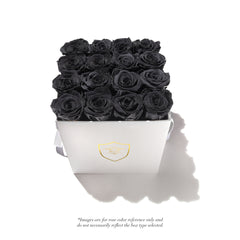 Medium Square Box - 16 Roses