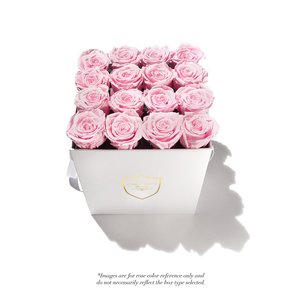 Small Square Box - 9 Roses