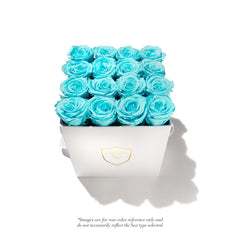 Mini Square Acrylic Box - 1 Rose