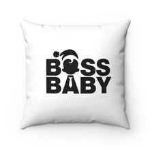 Boss Baby Spun Polyester Square Pillow