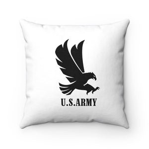 U.S. Army Spun Polyester Square Pillow