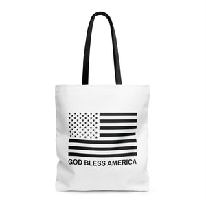 God Bless America AOP Tote Bag
