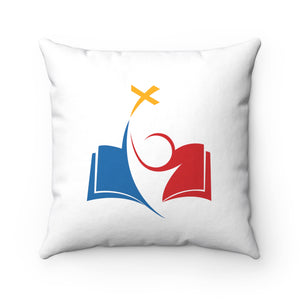 Cross Spun Polyester Square Pillow