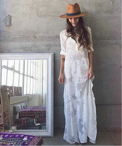 Selma Lace Maxi Dress