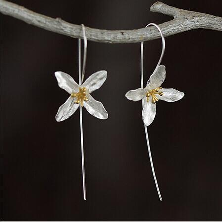Blossom Sterling Silver Earrings