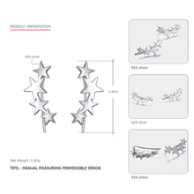 Stars Align Sterling Silver Earrings