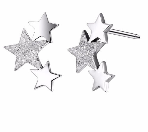Star Skies sterling silver earrings