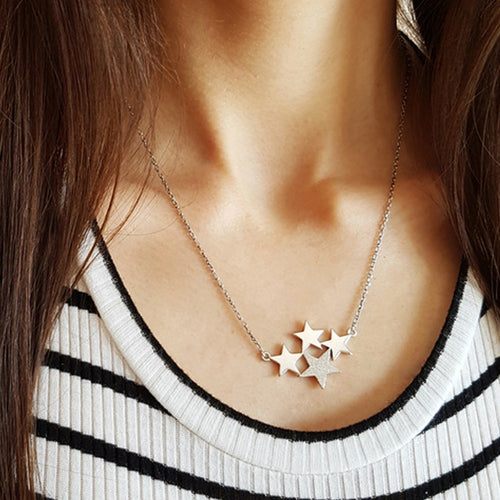 Star Skies Necklace Sterling Silver