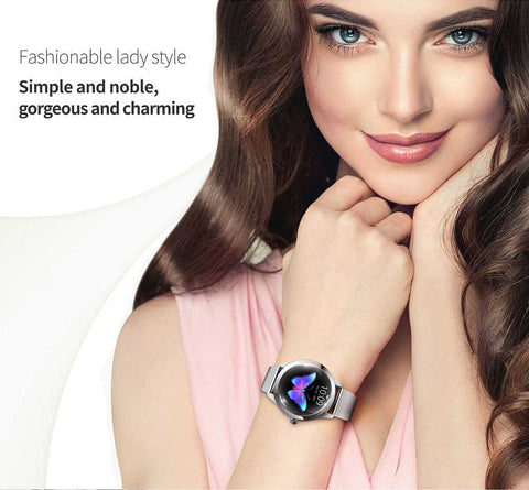 Womens Rose Gold Smartwatch
