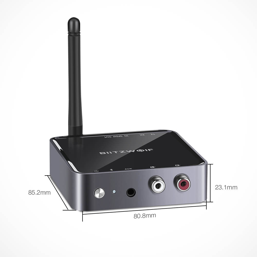 BlitzWolf Bluetooth Transmitter Receiver 2 in 1 Adapter Long Range Specifications