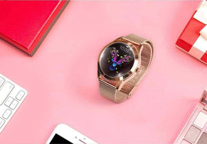 Womens Rose Gold Smartwatch 2019 - pepmyphone