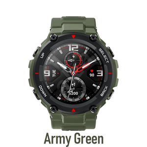 Amazfit T-Rex Rock Army Green color