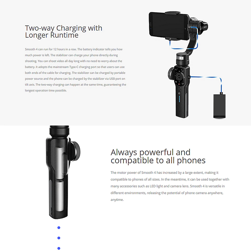 Best 3-Axis Gimbal Stabilizer for Smartphones & Action Cameras - pepmyphone