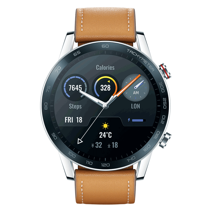 Huawei Honor Magic Watch 2 Brown Front View