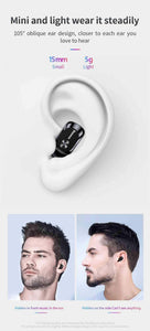 TWS Bluetooth 5.0 Stereo Wireless Earpods with HD Microphone - pepmyphone
