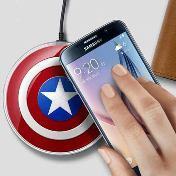 Captain Best Qi Certified Wireless Charger 2019 - pepmyphone