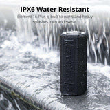 Smart waterproof Bluetooth speaker with Voice Assist, Power Bank Function - pepmyphone