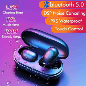 Touch Control TWS Bluetooth 5.0 HD Stereo Ear Pods  pepmyphone.myshopify.com