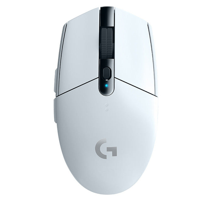 Logitech G304 LIGHTSPEED Gaming Mouse with HERO Sensor 12000DPI 6 PROGRAMMABLE BUTTONS 10X EFFICIENCY for MMO MOBA Gaming Mouse