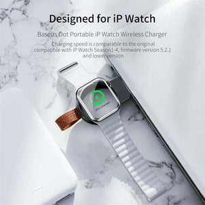 Magnetic Portable Wireless Fast USB Charger for iWatch Series - pepmyphone