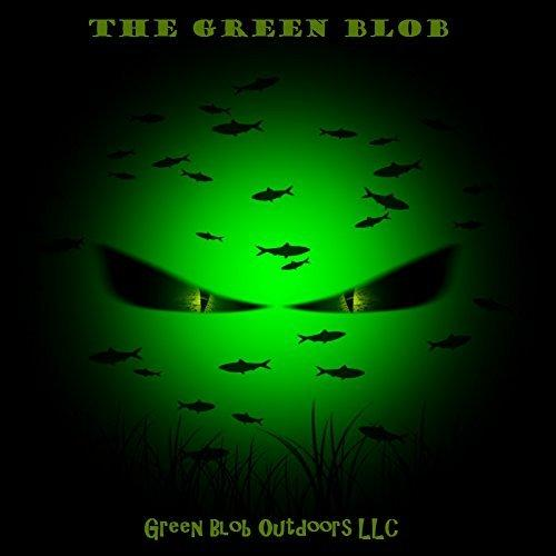 Green Blob-15000 Underwater Fishing Light w/ Battery Clips (15000 Lumens)