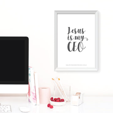 Jesus Is My CEO