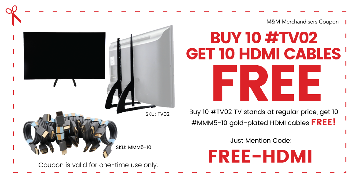 FREE Gold-Plated HDMI Cable Coupon