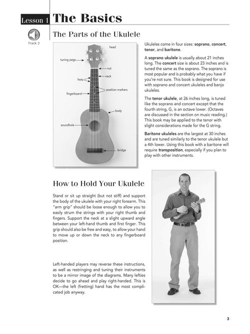 701872 Play Ukulele Today! Beginner's Pack Level 1 Book with Online Audio & Video