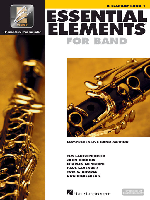 862569 Hal Leonard  Essential Elements for Band – Bb Clarinet Book 1 with EEi