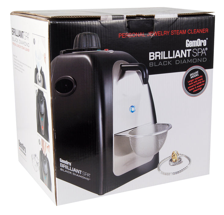 0362 Black Diamond Brilliant Spa Steam Cleaner