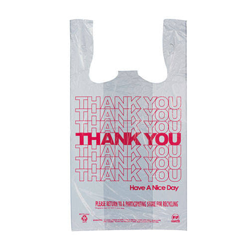 "100024 Thank You Bags 11.5"" x 6.5"" x 22"" - 1000 Bags"