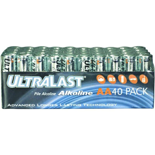 Ultralast AA Alkaline Bulk Pack 40pc