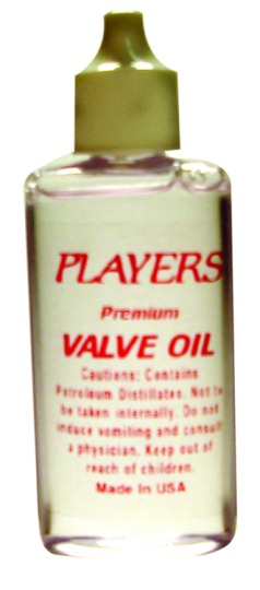 Players Valve Oil - Clear oil