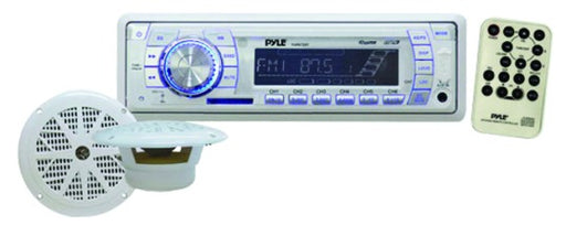 Pyle Marine Receiver With Speakers
