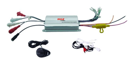 Pyle Marine 4 Channel Amplifier System