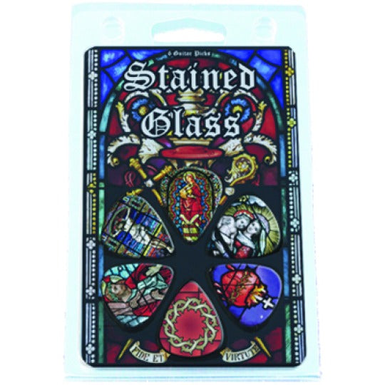 Hot Picks Religious Stained Glass Clamshell